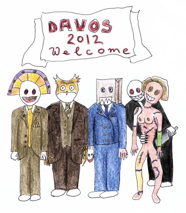 Davos 2012 Welcome