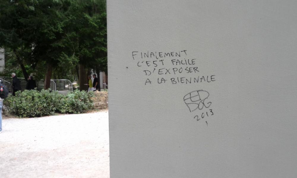 Graffiti Venice Biennale 2013